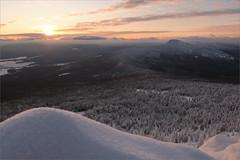 Закат (Kirill & K) Tags: winter snow mountain malinovaya southernural nature landscape зима снег гора малиновая южныйурал природа пейзаж sunset kirel закат кирель xh1 xf1655