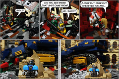The Monday Deathmatch Tournament - Page 104 (Aliencat!) Tags: lego comic moc monday space police post apoca apoc apocalypse apocalyptic nexo knights fancy pants