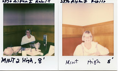 Polaroid SX-70 w/Mint 2 Flash On High @ 4 and a half' and 8' (CV 6) Tags: polaroid sx70 mint2 originals impossible