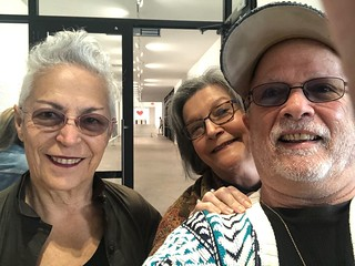 Can you see the Keith Haring heart in the back? Visiting Rubell Museum with George Neary.