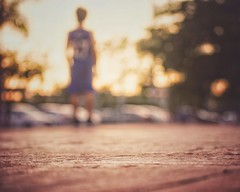 Here comes success (Mister Blur) Tags: here comes success dusk sunset basketball player blur blurism bokeh dots desenfoque blurry golden hour low pointofview pov sharp shallow depthoffield dof profundidaddecampo distanciafocal hospital mérida yucatán méxico nikon d7100 55200mm nikkor lens snapseed rubén rodrigo fotografía photography
