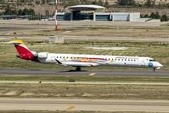 EC-LJS | Air Nostrum | Bombardier CRJ-1000 (CL-600-2E25) | CN 19003 | Built 2010 | MAD/LEMD 25/09/2019 | Aviacion Sin Fronteras' SC (Mick Planespotter) Tags: aircraft airport 2019 aviation avgeek avion nik sharpenerpro3 plane planespotter airplane aeroplane jet spotter ecljs air nostrum bombardier crj1000 cl6002e25 19003 2010 mad lemd 25092019 aviacion sin fronteras sc decal adolfosuárez madridbarajas madrid crj flugzeuge canon eos 80d