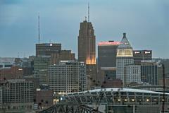 The City of Cincinnati (Just By Chance Photography) Tags: cincinnati cincinatti cityscape city landscape ohio vintage panorama devou park devoupark dreespark dreepark overlook overwatch canon t6 18135mm stm
