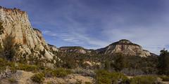 Eastern Part of Zion National Park, Utah (swissuki) Tags: zion national nature park mountain mesa landscape largelandscape eastern part area