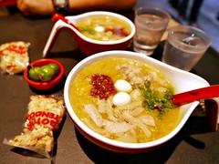 philippine congee (lugaw) (DOLCEVITALUX) Tags: philippinecongee lugaw meal food dish lumixlx100 panasoniclumixlx100 panasoniccameras porridge gruel
