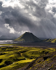 Maelifell, August 2019 (ralfelfving) Tags: sony alpha a7riii mirrorless bealpha explore swedish canadian iceland hike landscape landscapes highland moody rain storm volcano