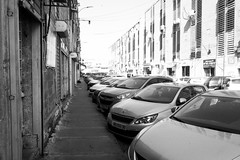 (TLV and more) Tags: canonpowershotg9xmarkii street city blackandwhite cars monochrome car parking sidewalk urban telavivyafo