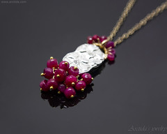 Ruby necklace for women Mixed metal gold silver heart necklace. Gemstone jewelry by Arctida. (Arctida) Tags: accessories arctida artisan autumn birthday birthstone canon cluster colors colours designer europe fall fashion fashionista gemstone gift idea gold handcrafted handmade heart jeweller jewellery jewelry mixed metals necklace pendant scandinavian silver spring style summer sweden wire women wrapped contrastcolor handmaker new art black background collection bright ornament statement simple modern bohemian boho chic shop vibrant colorful unique golden abstract layering cleavage blood burgundy cerise july love magenta red romance rubies ruby scarlet valentines day light