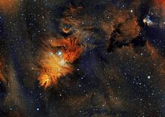 NGC2264 Cone Nebula (eBear Foto) Tags: ngc2264 losmandy nebula asi1600mm cone conenebula christmastree moonlite astro astrophotography astrometrydotnet:id=nova3931707 astrometrydotnet:status=solved