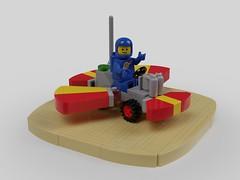 886 Bang Bang (David Roberts 01341) Tags: lego classicspace 886 buggy rover febrovery ldd mecabricks render fun toy chittychittybangbang flyingcar