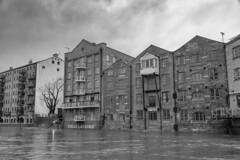 20200209_FebJanMixRdHyLdsTmpFloods_7183bw (ShakeyDave) Tags: leeds winter d750 nikon david stevens shakeydave west yorkshire 2020 jan feb floods flood water river rain storm ciara