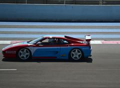 FERRARI F355 Challenge - 1995 (SASSAchris) Tags: ferrari f355 challenge f355challenge 10000 tours castellet circuit ricard rampante scuderia maranello enzo voiture italienne httt htttcircuitpaulricard htttcircuitducastellet 10000toursducastellet pininfarina cavallino v8 paulricard car endurance sport