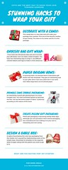 Infographic, Stunning Hacks to Wrap Your Gift (willihedgetcb) Tags: gable box gift boxes ideas kraft favor fancy lip balm tie jewellery pillow shirt custom packaging printing packing clothing color luxury adams wholesale soap cardboard corrugated lipstick template decorative flap for cosmetic manufacturers cookie flower with lids