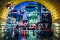 Auckland (SnapsByBarrie) Tags: auckland city newzealand olympus rain em1