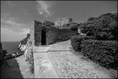 Corner (GColoPhotographer) Tags: castle blackandwhite liguria portovenere bw bianconero architechture