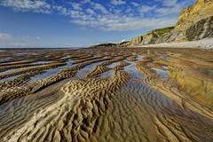 Fear of Drowning (pauldunn52) Tags: beach sand waves traeth mawr glamorgan heritage coast wales