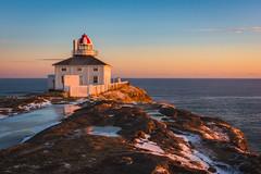 Coastline ... (vanessa violet) Tags: happyplace lighthouse capespear sunrise morning coastline vanessaviolet hollowcoves breathe home newfoundland winter ice ocean sea
