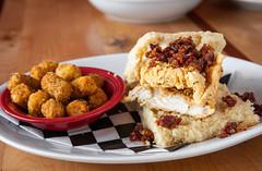 Josh's Big Biscuit (canerossotx) Tags: josh big biscuit brunch bacon marmalade fried chicken friedchicken