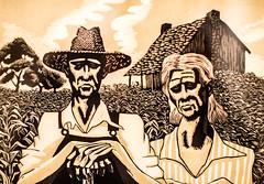 Tenant Farmers (Thomas Hawk) Tags: america loubarlow museum slc saltlakecity tenantfarmers ufma usa unitedstates unitedstatesofamerica universityofutah utah utahmuseumoffinearts fav10