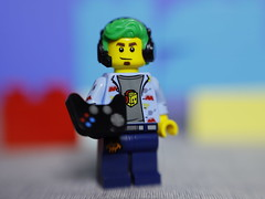 Gamer (DayBreak.Images) Tags: tabletop toy lego miniature gamer canondslr lensbabysol45 extensiontube ringlight