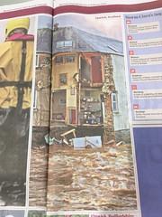 Photo of Storm Ciara: damage to a newly renovated B&B in Hawick, Scotland. The Daiy Telegraph