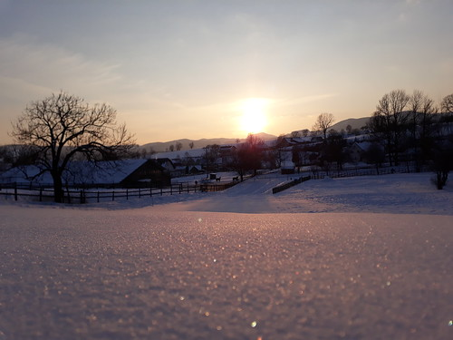 Neuschnee im Almenland