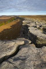 Stanage Edge (Keartona) Tags: stanageedge rocks gritstone edge landscape peakdistrict autumn october morning sunlight rugged walk moors derbyshire england yorkshire