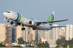 F-GZHL - Boeing 737-8K2 - Transavia (FelixTch) Tags: 737 boeing llbg ben gurion spotting israel 737800