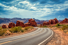 Road in Valley of Fire (JuanJ) Tags: nikon nikonphotography nikonphoto nikond850 d850 lightroom photoshop luminar art bokeh lens light landscape naturephotography nature people white green red black pink skyportrait location architecture building city square squareformat instagramapp shot awesome supershot beauty new flickr amazing photo photograph fav favorite favs picture me explore interestingness friends dof sunset sky flower night tree flowers portrait fineart sun clouds photooftheday nevada valleyoffire statepark nikonfxshowcase