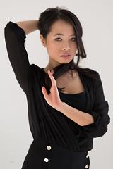 Lisa (piotr_szymanek) Tags: lisa lisan woman young skinny face portrait eyesoncamera studio naturallight longhair brunette asian
