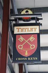 English Pub Sign - Cross Keys, Crewe (big_jeff_leo) Tags: pubsign pub publichouse painted painting sign cheshire