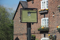 English Pub Sign - the Bulls Head at Davenham (big_jeff_leo) Tags: pubsign pub publichouse england english cheshire sign design