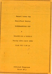 Waterlooville v Blackfield & Langley (Havant & Waterlooville) Tags: havant waterlooville blackfield langley russell cotes cup football programme