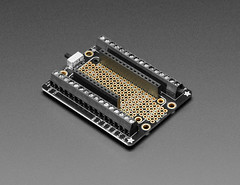 Assembled Terminal Block Breakout FeatherWing for all Feathers (adafruit) Tags: 2926 terminal block breakout featherwing feather boards electronics accessories addons diy diyelectronics diyprojects projects
