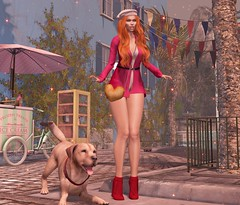 ♚ LOTD #222 ♚ (Charlote.Marchetti) Tags: outfit scandalize heels breathe bag cest la vie hair ramasalon c88 collabor88