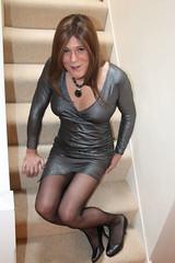I like how this dress shows off my legs (suedel36) Tags: cd crossdresser transvestite tgirl tgurl