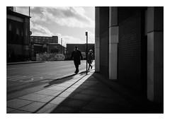 FILM - Coming around the corner (fishyfish_arcade) Tags: 35mm analogphotography bw blackwhite blackandwhite canonsureshotmax delta400 filmphotography filmisnotdead istillshootfilm monochrome analogcamera compactcamera film ilford mono streetphotography