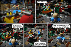 The Monday Deathmatch Tournament - Page 107 (Aliencat!) Tags: lego moc comic monday space police nexo knights fancy pants squidman snake deathmatch