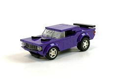 Plum Crazy (timhenderson73) Tags: lego custom moc muscle car mopar ford chevy barracuda camaro mustang hot rod