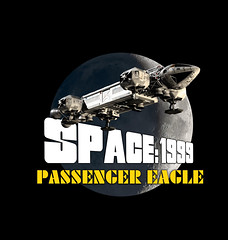 Passenger Eagle Art (Tenement01) Tags: eagle transporter eagletransporter gerryanderson gerry anderson sciencefiction science fiction scifi cgi spaceship space1999 space 1999 brianjohnson brian johnson moon