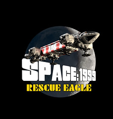 Rescue Eagle Art (Tenement01) Tags: eagle transporter eagletransporter gerryanderson gerry anderson sciencefiction science fiction scifi cgi spaceship space1999 space 1999 brianjohnson brian johnson moon