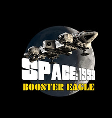 Booster Eagle Art (Tenement01) Tags: eagle transporter eagletransporter gerryanderson gerry anderson sciencefiction science fiction scifi cgi spaceship space1999 space 1999 brianjohnson brian johnson moon