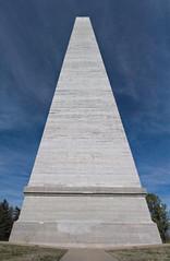 Jefferson Davis Monument (Kaptain Karst) Tags: confederate jeffdavis jeffersondavis fairview kentucky obelisk phalus concrete dixie csa president sex