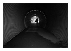 FILM - Tube (fishyfish_arcade) Tags: 35mm analogphotography bw blackwhite blackandwhite canonsureshotmax delta400 filmphotography filmisnotdead istillshootfilm monochrome analogcamera compactcamera film ilford mono streetphotography