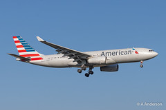 Airbus A330-200 N283AY American 20200207 Heathrow (steam60163) Tags: american airbusa330 heathrow heathrowairport