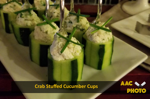 "Crab Stuffed Cucumber Cups • <a style=""font-size:0.8em;"" href=""http://www.flickr.com/photos/159796538@N03/49517370086/"" target=""_blank"">View on Flickr</a>"