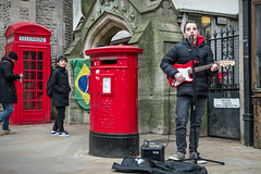 """Gareth's Photo of the Week 5 """"Busker"""""""