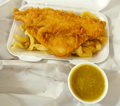 Yorkshire Fish and Chips and Chinese Curry Sauce (Tony Worrall) Tags: photos photograff things uk england food foodie grub eat eaten taste tasty cook cooked iatethis foodporn foodpictures picturesoffood dish dishes menu plate plated made ingrediants nice flavour foodophile x yummy make tasted meal nutritional freshtaste foodstuff cuisine nourishment nutriments provisions ration refreshment store sustenance fare foodstuffs meals snacks bites chow cookery diet eatable fodder ilobsterit instagram forsale sell buy cost stock fish chips fries fried batter curry sauce