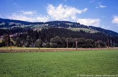 Kirchberg in Tirol, augustus 1985 (Okke Groot - in tekst en beeld) Tags: landbouw kirchberg bergen tirol weilanden oostenrijk