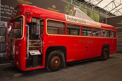 1952 AEC Regal IV (Michael Gaylard) Tags: uk england surrey weybridge brooklands museum nikon d600 bus coach londontransport red 1952 aec regal iv singledeck sigma 1020mm 1456 ex dc hsm london